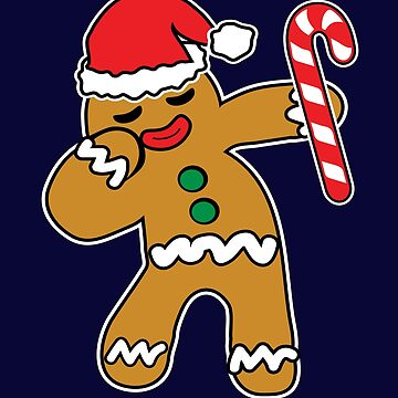 Christmas Cookie Dabbing Gingerbread Man Shirt Christmas Cookies Christmas Baking T-Shirts  by teemaniac