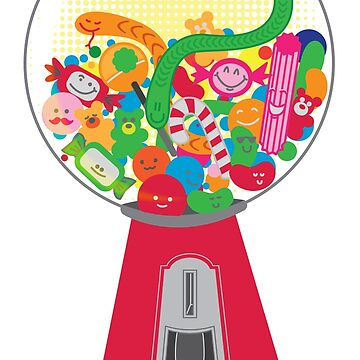 Jumpy's Fun Gumball Machine by jumpy