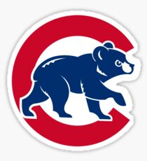 Chicago Cubs Original Logo Sticker