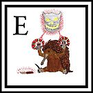 E is for Echidna by Ancell