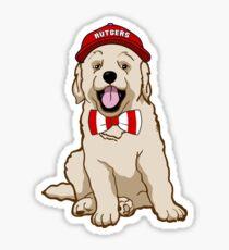 Rutgers University Pup Sticker