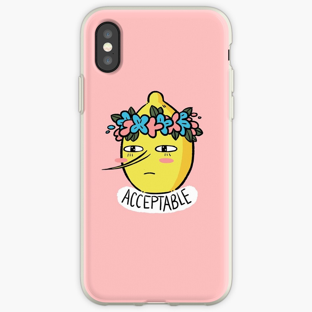 Soft Lemongrab  iPhone Cases & Covers