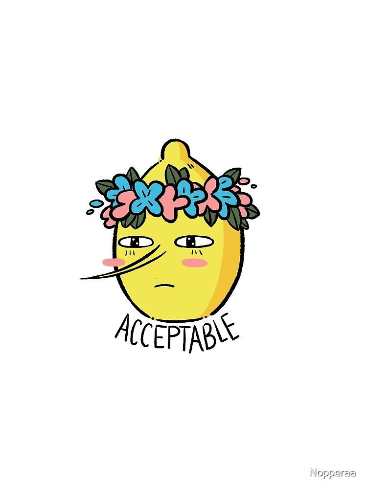 Soft Lemongrab  by Nopperaa