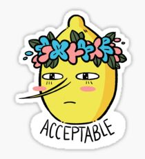 Lemongrab Doux Sticker