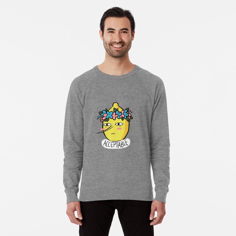 Soft Lemongrab  Lightweight Sweatshirt