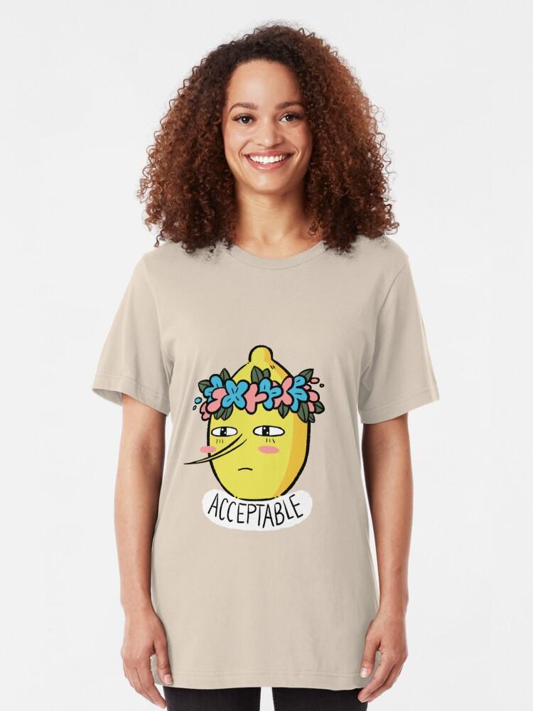 Alternate view of Soft Lemongrab  Slim Fit T-Shirt