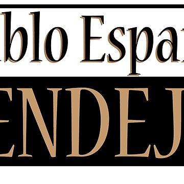 !Hablo Español Pendejo! - funny Mexican design by estudio3e