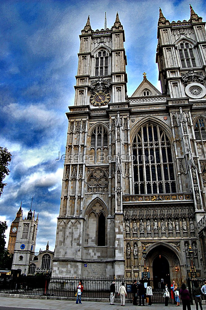 westminster abbey by Jessica Bongiorno