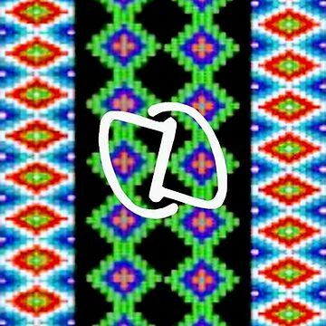 Tribal Stripe Vert by DahnDahlas
