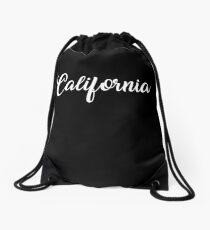Californians retro graphic Drawstring Bag