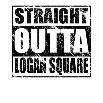 Logan Square Shirt Design by kirei