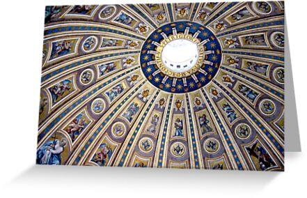 St Peter's dome, Vatican City by Jeanne Horak-Druiff