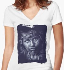 Will Women's Fitted V-Neck T-Shirt