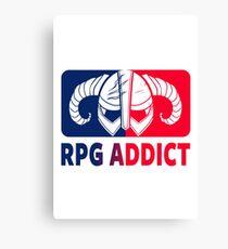 RPG Addict Canvas Print