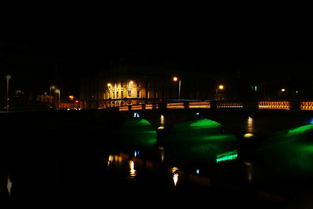 Green Bridge by Alan Wright