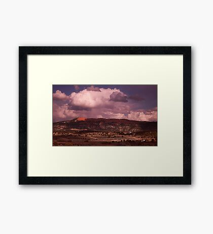 Where ever I may roam: Framed Print