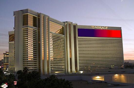 Las Vegas Mirage Sunset by urbanphotos