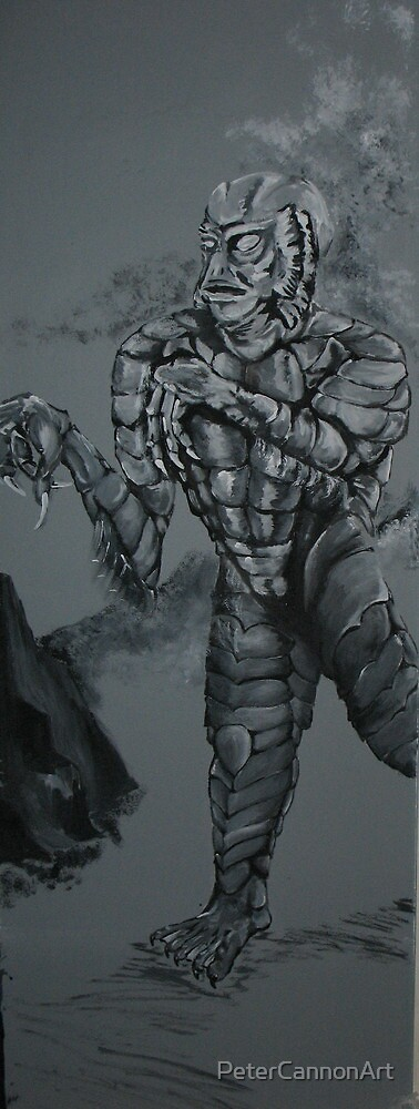 creature from the black lagoon by PeterCannonArt
