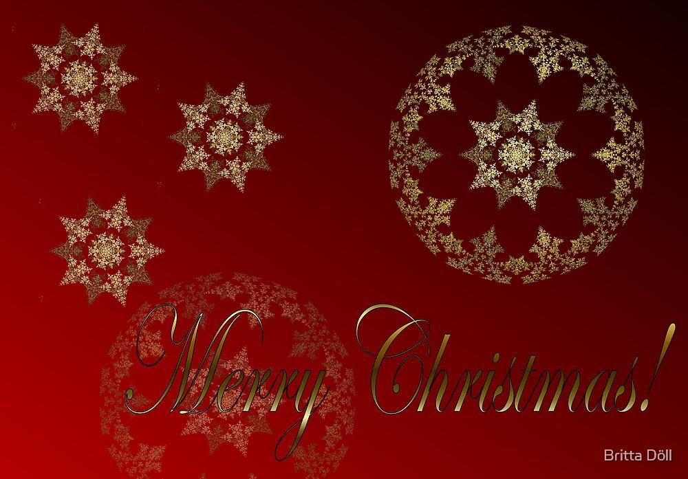 Merry Christmas by Britta Döll