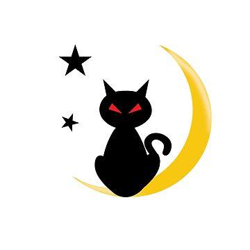 Mondschein Kitty Kat von lizsere87