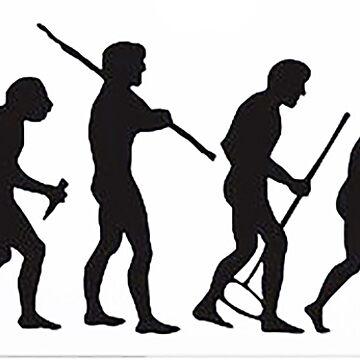 Evolution of computer Geek by thatstickerguy
