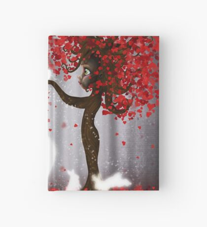 Magical Heart Tree Forest for Spirit Animals Hardcover Journal