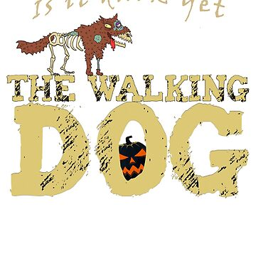 The Walking Dog Zombie Walk Day of the Dead by Dibble-Dabble