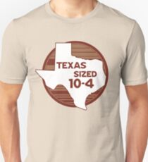 Texas Größe 10-4-Letterkenny Slim Fit T-Shirt
