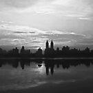 Central Park  Reservoir by Marjorie Smith