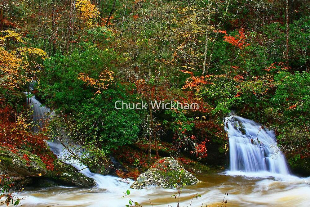 LITTLE RIVER FALLS by Chuck Wickham