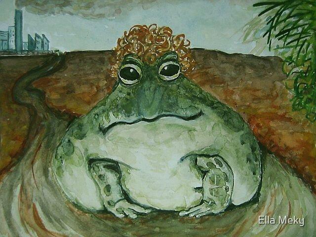 Curly Frog by Ella Meky