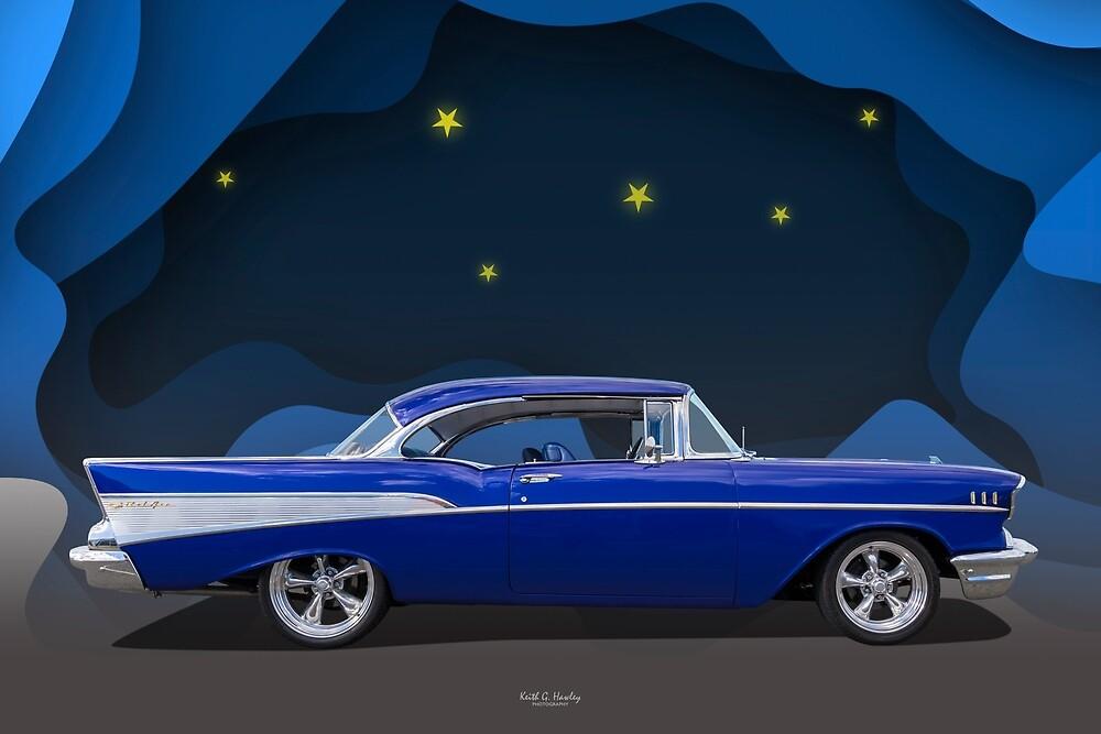 57 Bel Air by Keith Hawley
