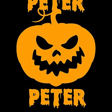 Halloween Peter Peter Pumpkin Eater Jack O Lantern Funny by hlcaldwell