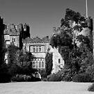 Malahide Castle in B&W by Martina Fagan