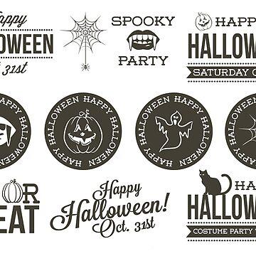 Retro Style Halloween by tato69