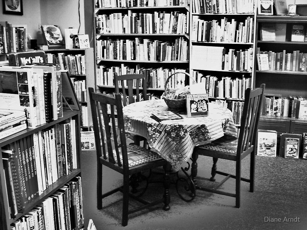 Book Store Reading room by Diane Arndt