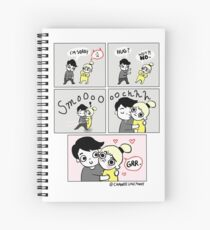 Grr! Chanee Uncanny Comics Spiral Notebook