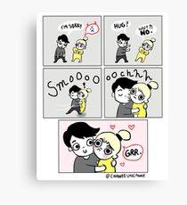 Grr! Chanee Uncanny Comics Canvas Print
