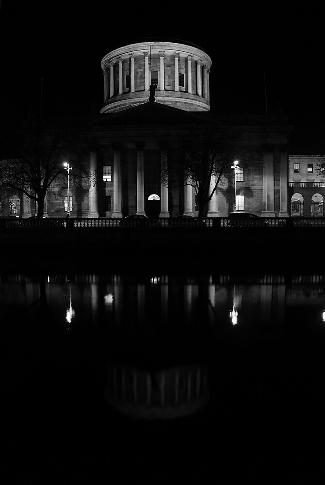 Four Courts by Alan Wright