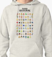 Super Smash Bros. Ultimate (Everyone is Here! design) Pullover Hoodie