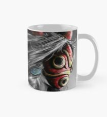 Mononoke Wolf Anime Tra Digital Painting Mug