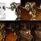 The Goblin King Progression by Curtiss Shaffer