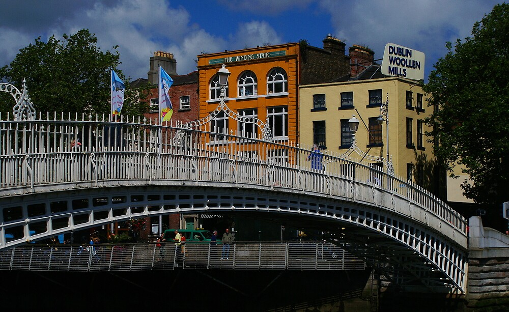 Ha'Penny Bridge Day by Alan Wright