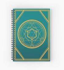 DnD Arcane Runes Spiral Notebook
