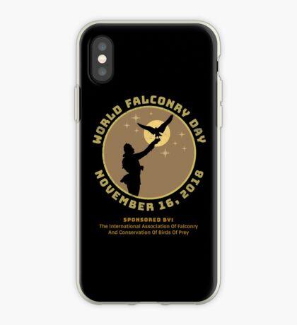 World Falconry Day November 16, 2018  iPhone Case