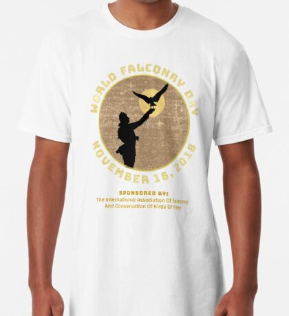 World Falconry Day November 16, 2018  Long T-Shirt