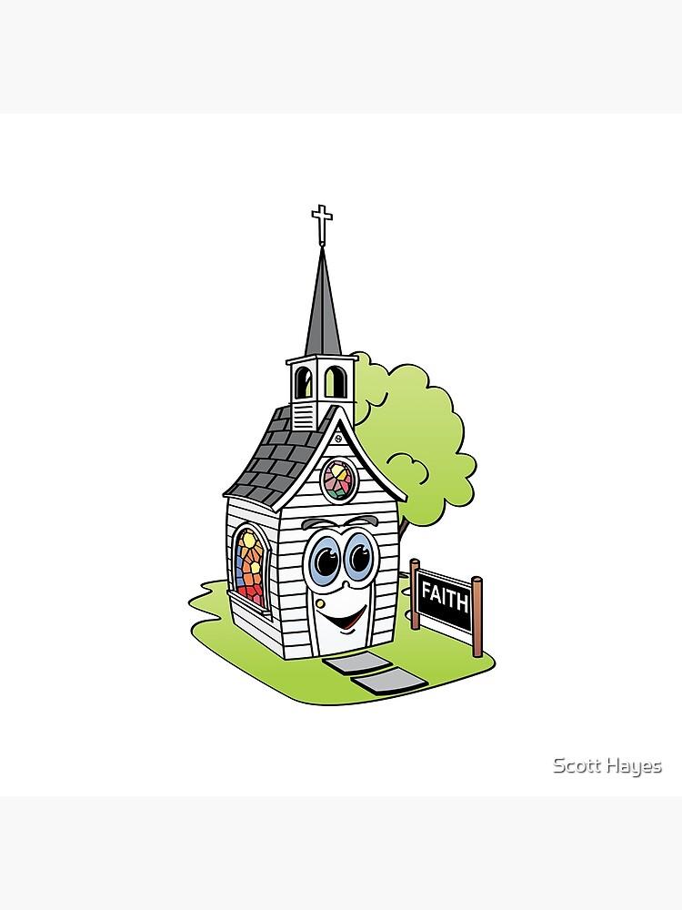 Cartoon Church de Graphxpro