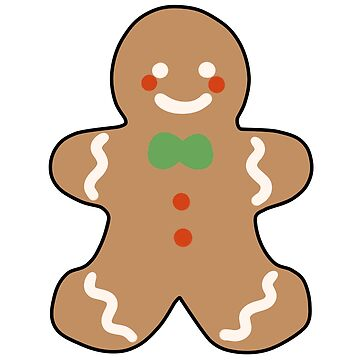 gingerbread man by daisy-sock