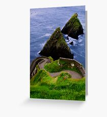 Dunquin Pier Greeting Card