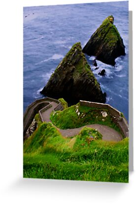 Dunquin Pier by Alan Wright